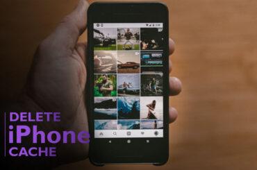Delete iPhone Photo Cache
