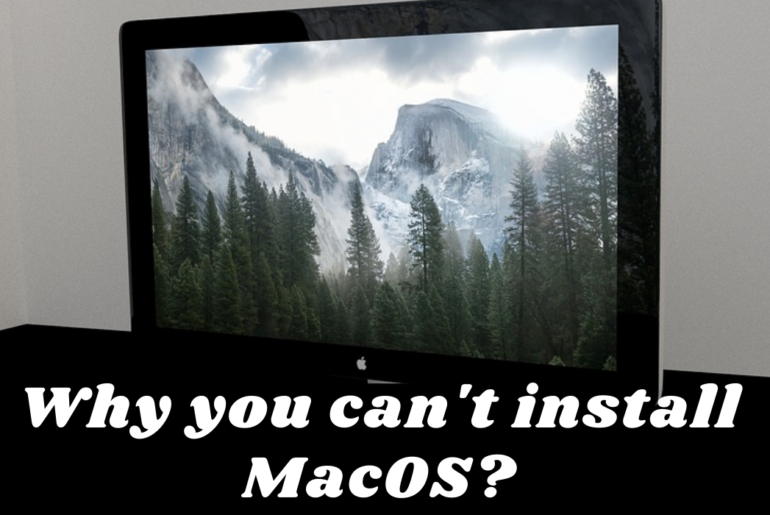 The MacOS Installation Couldn't be Completed