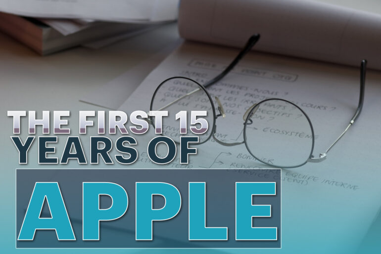 The First 15 Years Of Apple History Timeline