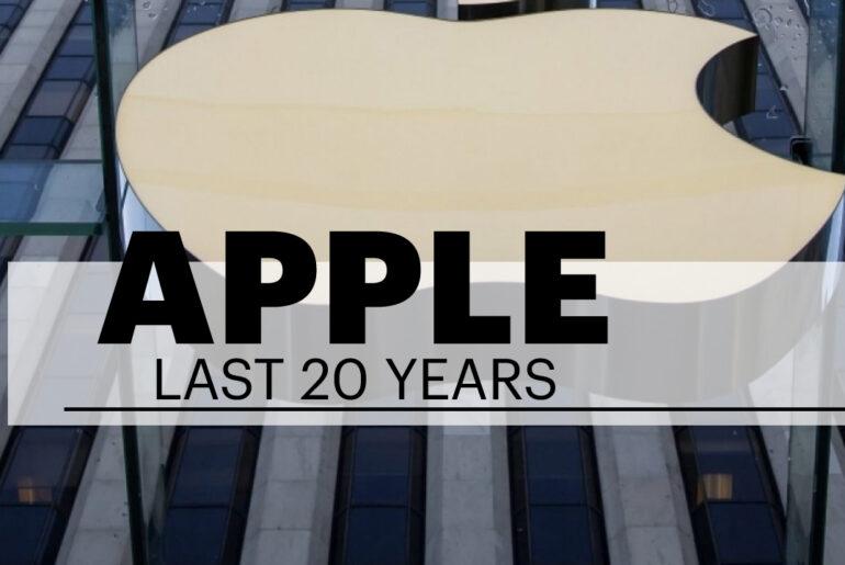 Apple Company Last twenty years